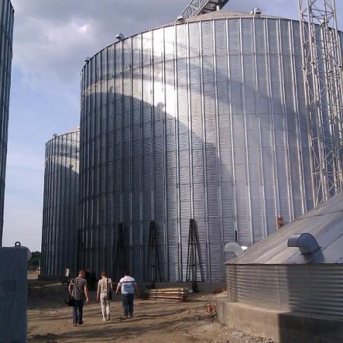 Комплексна автоматизація елеватора «Зернова індустрія» місткістю 120 тис.т