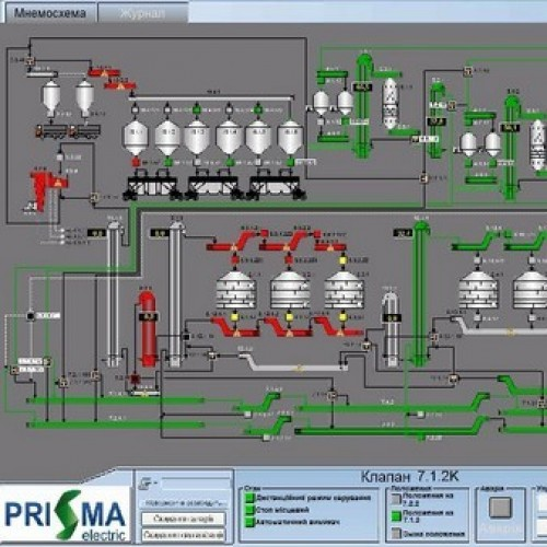 АСУ ТП елеватора потужністю 189 тис.т